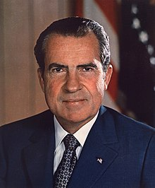 Portrait de Richard Nixon