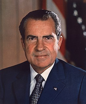 Richard Nixon (poltred ofisiel)