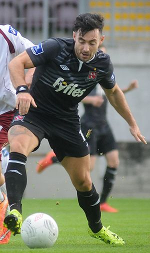 Richie Towell - Richie Towell in action for Dundalk in the 2015 League of Ireland Premier Division