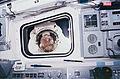 Rick Hieb peers into the flight deck - GPN-2006-000015.jpg