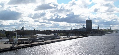 How to get to Riga Passenger Terminal with public transit - About the place