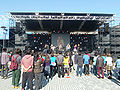 Ritsumeikan University Festival Central Stage.JPG