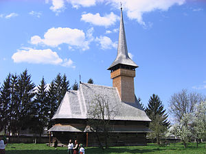 Bogdan Vodă - Wooden church
