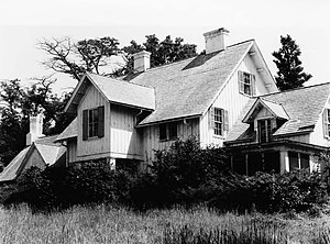 Glenview, Illinois - The Grove includes the Kennicott House, which was built in 1856.