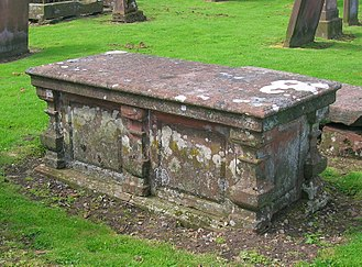 The Hermitage, Friars Carse - Robert Riddell's tomb.
