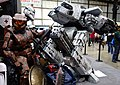 Robocop ED209 and Master Chief at MakerFaire 2014 (14204143296).jpg