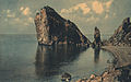Rock and Sea in Crimea.jpg