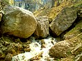 Rocks and creek in Shahdag National Park.jpg