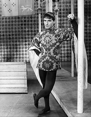 Roddy McDowall - McDowall as Mordred in the musical Camelot on Broadway (1960)