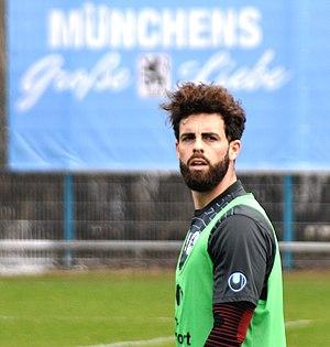 Rodri (footballer, born 1990) - Rodri training with 1860 Munich (2015)