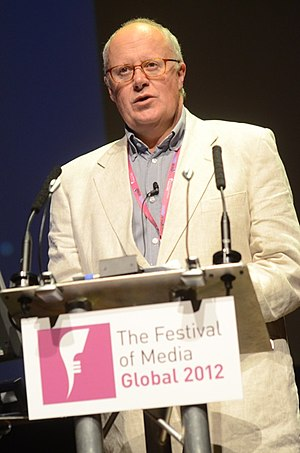 Roger Parry - Roger Parry at the Festival of Media Montreux 2012