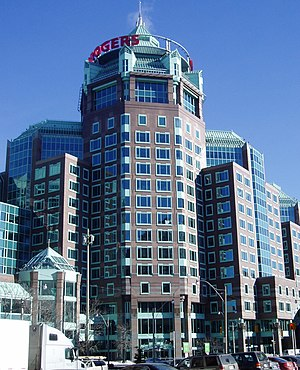 Economy of Toronto - Rogers Building, the Rogers Communications head office building in Toronto
