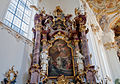Roggenburg Klosterkirche Nördlicher Seitenaltar der Roggenburger Sakramentsbruderschaft 2010 10 31.jpg