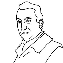 Portrait de Roland Barthes