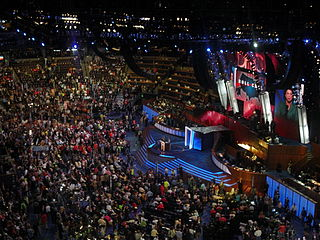 Democratic National Convention series of presidential nominating conventions held every four years since 1832 by the United States Democratic Party
