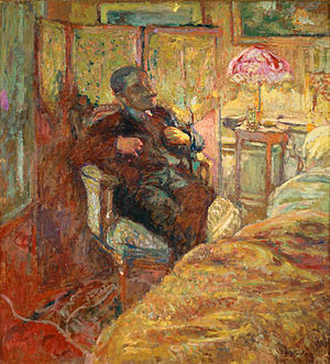 Romain Coolus - Portrait by Édouard Vuillard (1906)