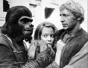 Planet of the Apes (TV series) - L-R: Wayne Foster, Zina Bethune and Ron Harper