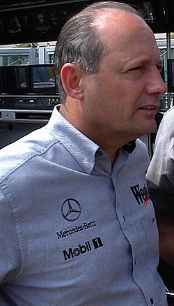 Ron Dennis, team principal 1980-Present Day, at the 2000 Monaco Grand Prix