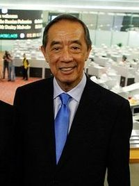Ronald Arculli, cropped from Dmitry Medvedev in Hong Kong 17 April 2011-15.jpeg