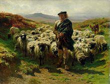 Rosa Bonheur, The Highland Shepherd, 1859