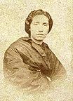 Foto feita sobre 1865, retratada por María Cardarelly.[1]