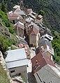 Roubion - L'église vue de la terrasse du pigeonnier.JPG