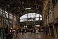 Rouen - Gare de Rouen-Rive-Droite - Rouen Trainstation 1928 by Adolphe Dervaux - View North - Art Nouveau.jpg