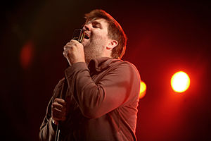 LCD Soundsystem - Principal member James Murphy at La Route Du Rock in August 2007