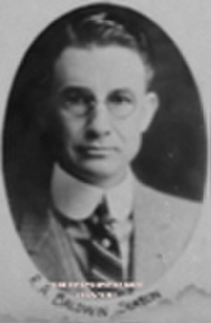 Roy Alvin Baldwin - Baldwin legislative portrait