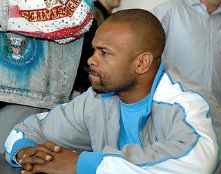 Roy Jones Jr. American boxer, rapper and actor