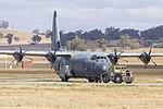 Royal Australian Air Force (A97-450) Lockheed Martin C-130J Hercules at Wagga Wagga Airport (1).jpg