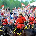 Royal Canadian Mounted Police (RCMP) Sunset Ceremony 2012.jpg