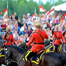 Royal Canadian Mounted Police (RCMP) Sunset Ceremony 2012 eceadc6423c8