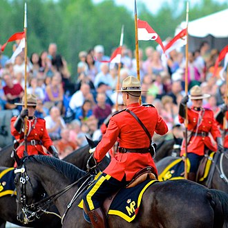 Royal Canadian Mounted Police - Royal Canadian Mounted Police (RCMP) Sunset Ceremony 2012