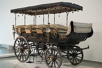 Thrupp & Maberly - Promenade carriage or shooting brake for Queen Maria II of Portugal
