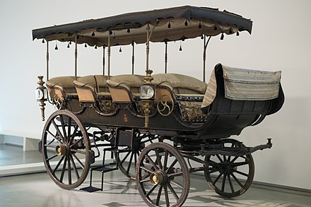 Promenade carriage or shooting brake for Queen Maria II of Portugal Royal Charabanc (19th century) (26769741549).jpg