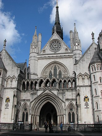 Legitimate expectation in Singapore law - The Royal Courts of Justice in London, where the Court of Appeal of England and Wales sits. In a 1999 case, the Court controversially held that individuals can have a legitimate expectation to receive a substantive benefit, not merely a procedural right.