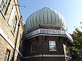 Royal Observatory Greenwich - 28-Inch Telescope Dome and Meridian Building (8128784575).jpg