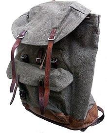 Swiss army backpack ca. 1960