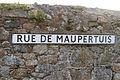 Rue de Maupertuis road name.JPG