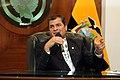 Rueda de Prensa del Presidente Rafael Correa (7418156624).jpg