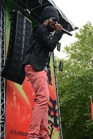 Perfect (musician) - Perfect at Ruhr Reggae Summer 2014 in Mülheim
