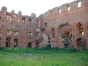 Neman, Russia - Ordensburg ruins