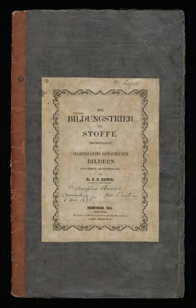 File:Runge, F. F. 'Der Bildungstrieb der Stoffe' - Oranienburg (1855).djvu