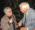 Ryszard Matuszewski and Maria Iwaszkiewicz-Wojdowska Fot. Mariusz Kubik Warsaw September 10 2004.jpg