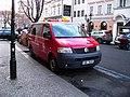 Rytířská, vozidlo zastávkové služby ROPID.jpg
