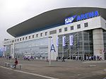 SAP Arena am 21. August 2005