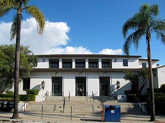 Reginald Davis Johnson - Santa Barbara Post Office (93101). Reginald Johnson, architect, 1936. Commissioned as part of the New Deal