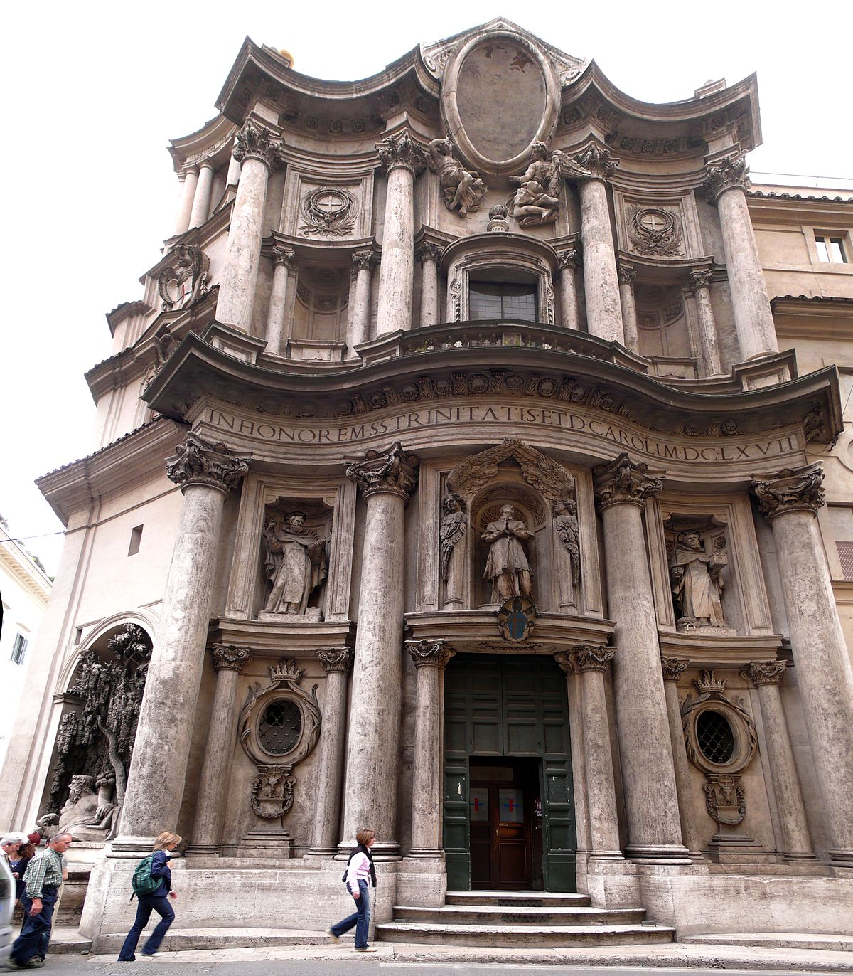 Chiesa di San Carlo alle Quattro Fontane - Wikipedia