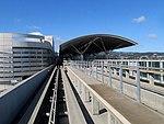 SFO Airtrain Garage G and BART station, September 2017.JPG